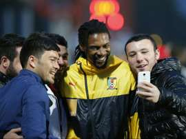 Cameroon got the win. AFP
