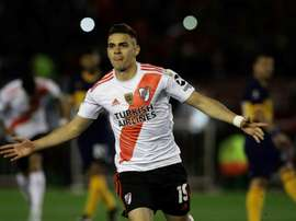 Champions River Plate draw first Libertadores blood against Boca.