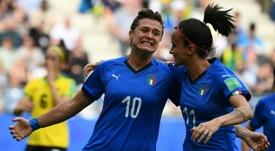 La pegada italiana, la solidez china. AFP