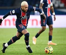 Neymar superou marca de Ibra. AFP