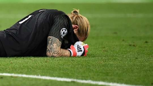 Karius underwent huge criticism after mistakes in the Champions League final. AFP