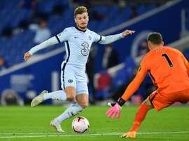 Werner avoue avoir hesité a rejoindre Chelsea après la déroute des Blues face au Bayern. AFP