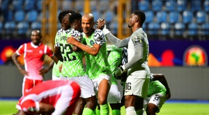 Nigeria defeated Burundi. AFP