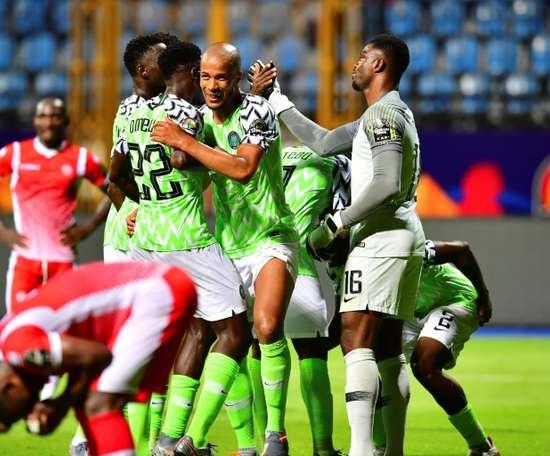Nigeria defeated Burundi. AFP