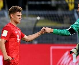 Kimmich donne raison à Pep Guardiola. AFP