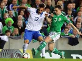 O jogador grego estenderá seu vínculo com o time lisboeta. AFP