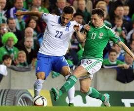 El griego podría abandonar el equipo portugués. AFP
