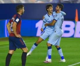 Felix double sends Atletico to La Liga top four