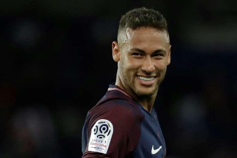 Neymar veut à tout prix repartir au Barça. AFP