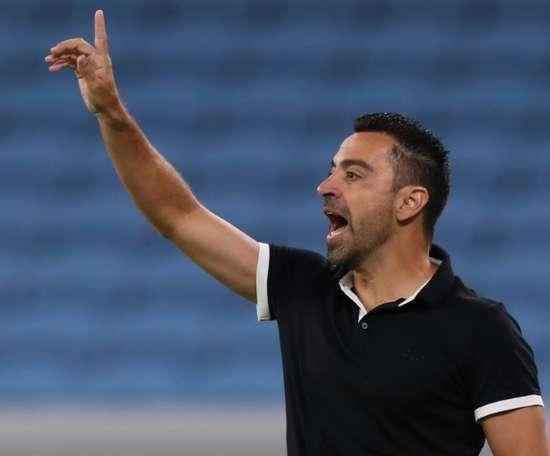 Xavi's Al Sadd hold Duhail, Gomis hits hat-trick for Hilal.
