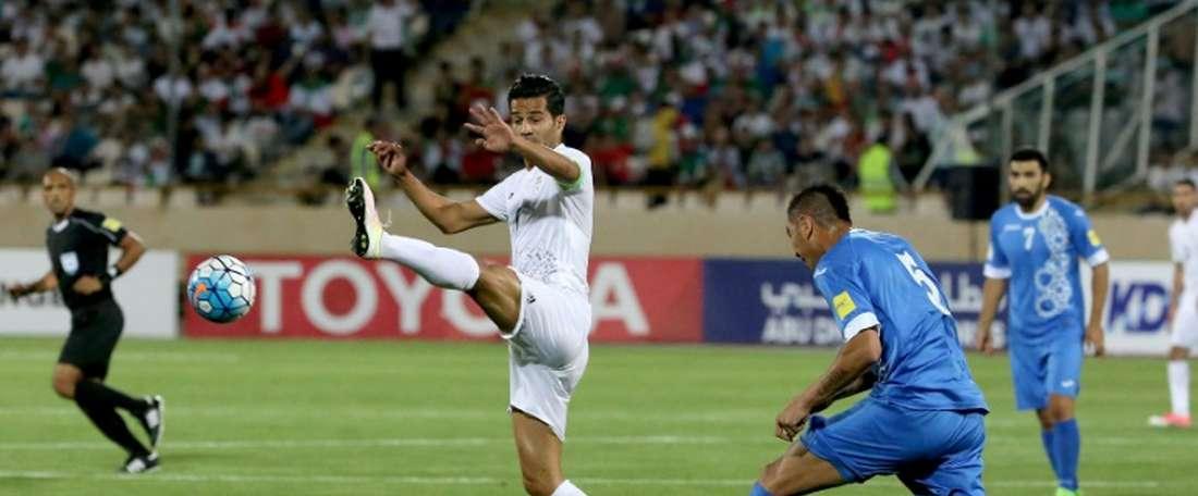 Shojaei has returned to international duties. AFP