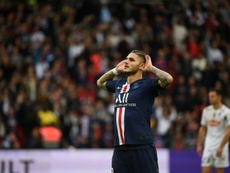 Icardi scores first Ligue 1 goal as PSG cruise past Angers. GOAL