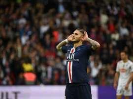 L'Inter ne veut vraiment plus Icardi. AFP