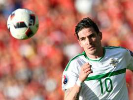 Lafferty has pulled out of the squad. AFP