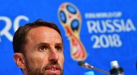 Southgate justificó la acción de sus jugadores. AFP