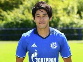 Atsuto Uchida, pictured on July 20, 2016, has been blighted by knee problems for two years and has been out since a relapse in April 2015
