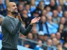 Guardiola no tiene prisa para fichar. AFP