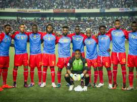 Les joueurs du Congo lors d'un match en 2016. AFP