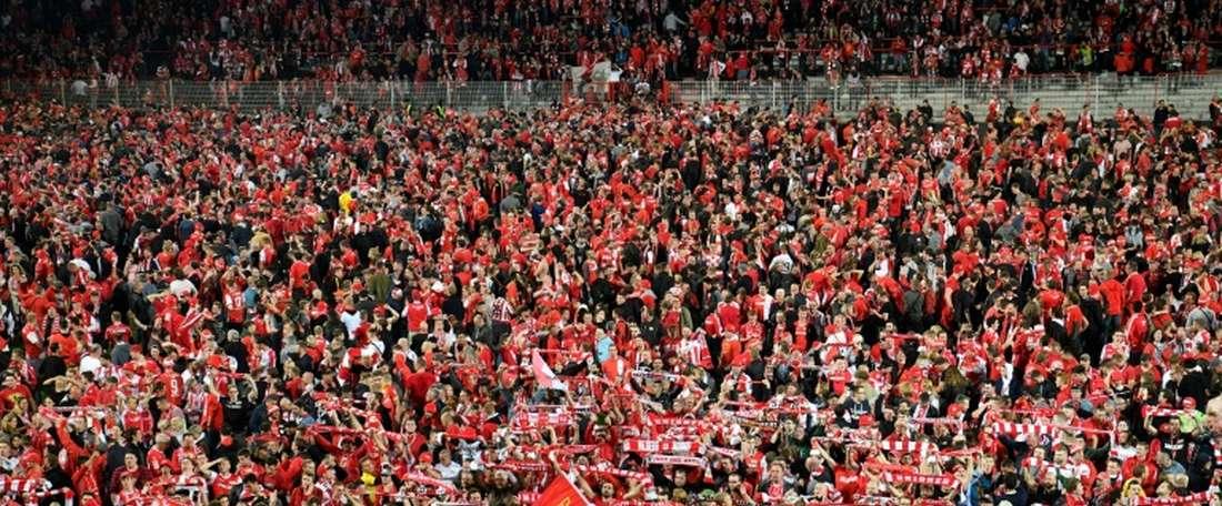 Montée historique du club de l'autre Kroos. AFP