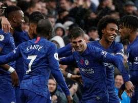 Chelsea ne connaîtra pas la réponse de la FIFA jusqu'au mercato. AFP