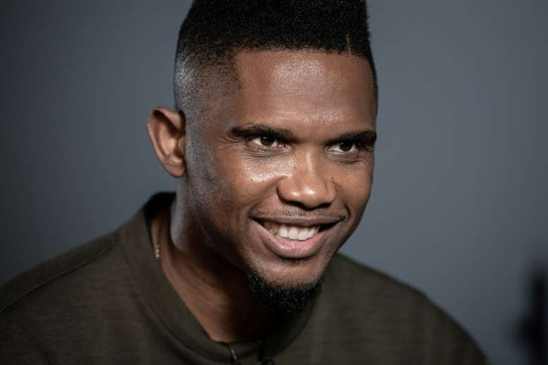 Samuel Etoo is hoping an African player wins the Ballon D'or this year. AFP
