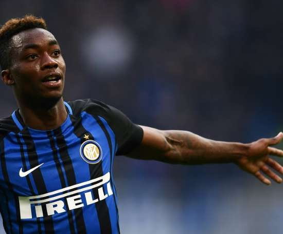 Karamoh scored Inter's winner. AFP