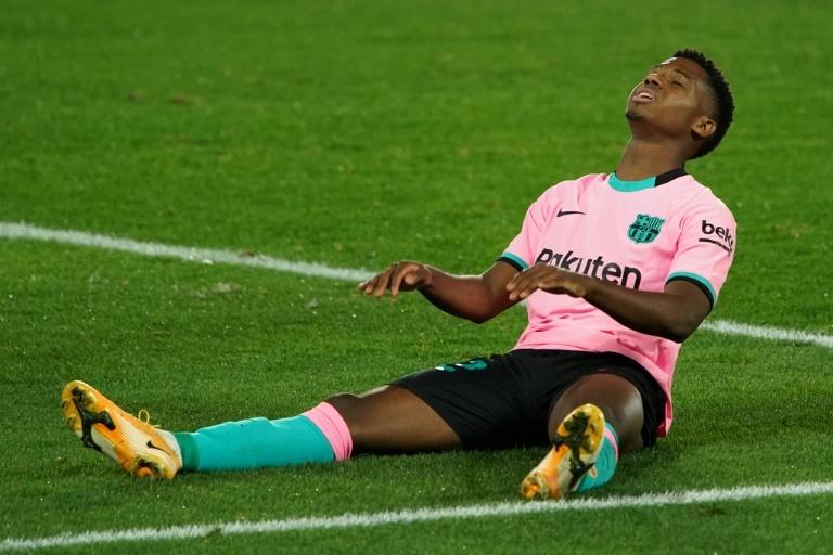 Ansu Fati sera bien absent face au PSG — Barça