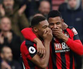 El Bournemouth salvó un punto al final. AFP
