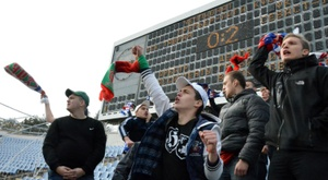 Professional football in Crimea is on the brink of disappearance. AFP