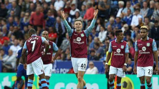 Grealish could sign a new contract with Villa. AFP