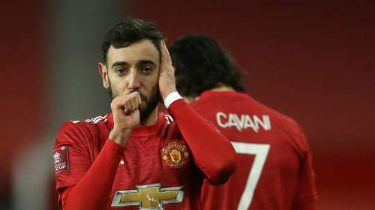 Solskjaer hails Fernandes as Man Utd star downs Liverpool. AFP