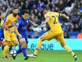 El Leicester se ha repuesto del severo correctivo recibido la pasada jornada. AFP