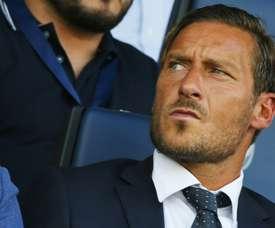 La Roma homenajeará al jugador en el duelo de Champions ante el Madrid. AFP
