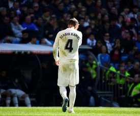 Ramos ne jouera pas contre Levante. AFP