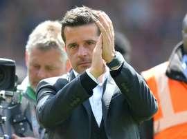 Hull City foi derrotado por 4-0 na visita ao Crystal Palace. AFP
