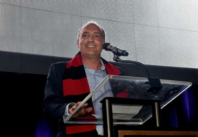 Club president Darren Eales launches Atlanta United, the latest club to be born into Major League Soccer