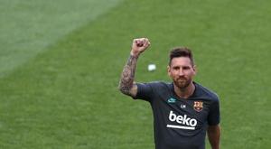 Moratti sogna Messi all'Inter. AFP