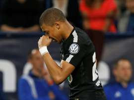 Mbappe scored twice to help the French champions progress. AFP