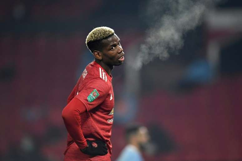 Paul Pogba is keen for Man Utd to win major trophies once again. AFP