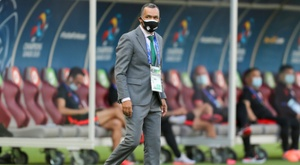 Jose Morais led Jeonbuk for the last time in the loss to Shanghai SIGP. AFP