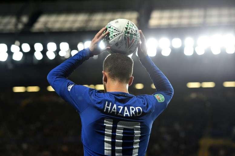 Hazard se rapproche du Real Madrid. AFP