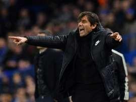 Conte has won his compensation claim against Chelsea. AFP