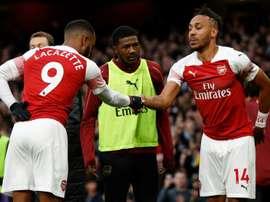 Les canonniers d'Arsenal. AFP