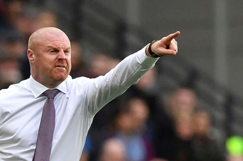 Sean Dyche will have to decide what to do about his goalkeeper predicament. AFP