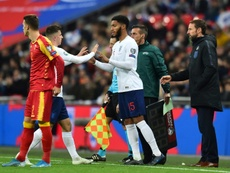 Chilwell has defended Joe Gomez after the Liverpool man was booed at Wembley. AFP