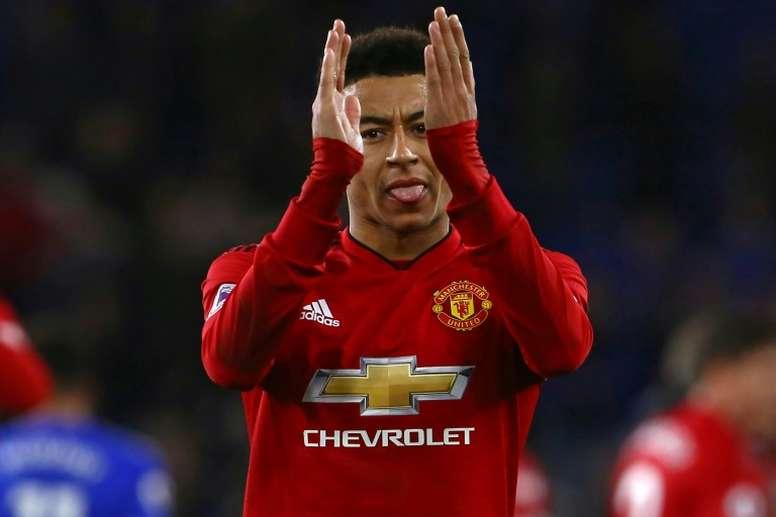 Arsenal want Lingard. AFP