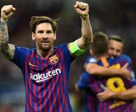 Messi s'accapare tous les records. AFP
