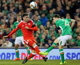 Ireland and Wales face off in a crucial clash. AFP