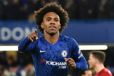 Willian has not renewed his contract with Chelsea. AFP