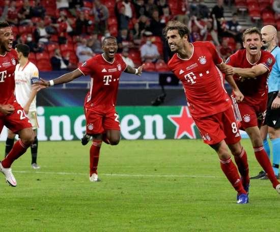 Bayern won 2-1. AFP